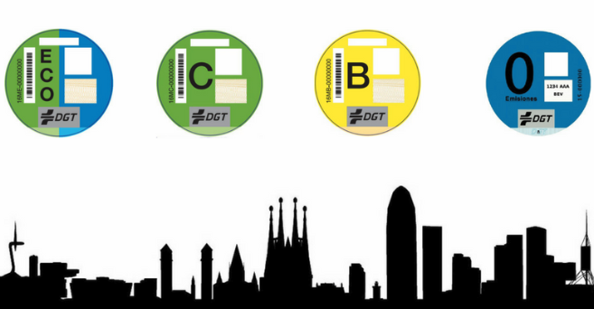 Vehículos contaminantes pueden entrar en Barcelona con autorización