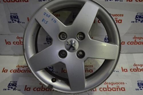 "Llanta Aluminio 207 0612 15"" 9651016580"
