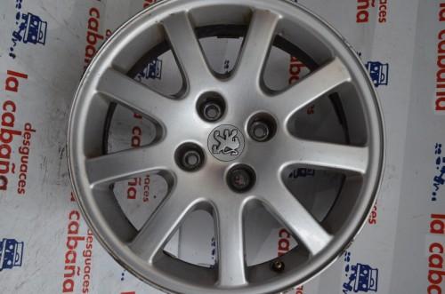 "Llanta Aluminio 206 9806 Gti 16"" 9640384180"