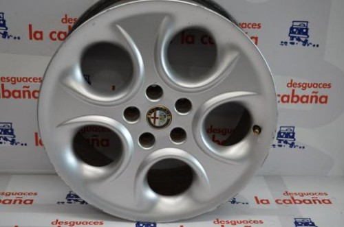 "Llanta Aluminio Alfa 166 9807 17"" 80829500"