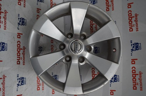 "Llanta Aluminio Navara 9705 17"" Sin Ref"
