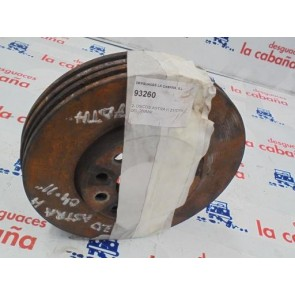2- Disco Astra H Z17dth Delantero 289mm