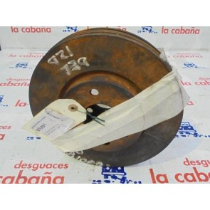 2- Disco Doblo 0510 223b1000 Delantero 255mm