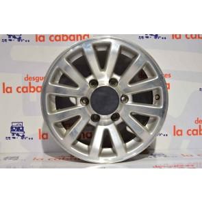 """Llanta Aluminio Trooper 9100 16"""" Isuzu"""